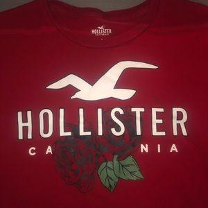 Red Hollister T-shirt
